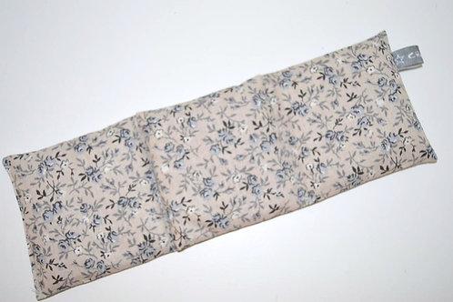 Bouillotte sèche - blé bio - tissu coton motifs liberty gris