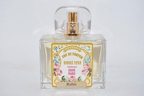 Eau de parfum femme, Rubis, parfum de Grasse, Honoré Payan