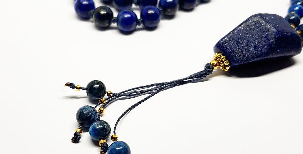 Kyanite & Lapis Lazuli