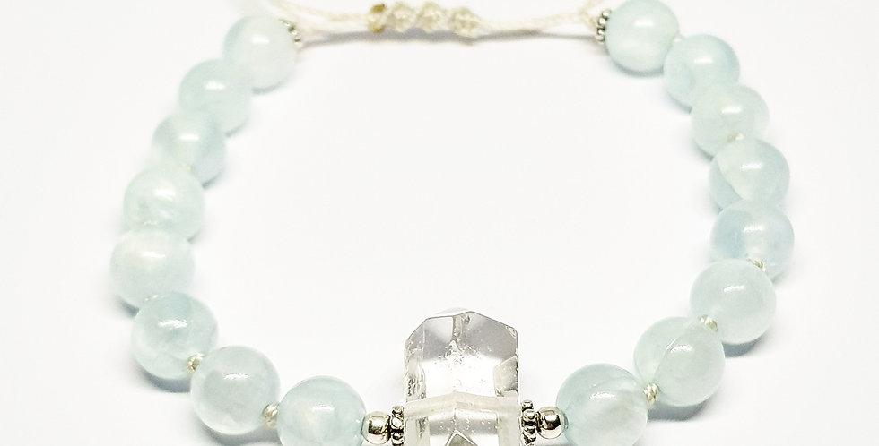 Infinite Clarity ~ Quartz bracelet