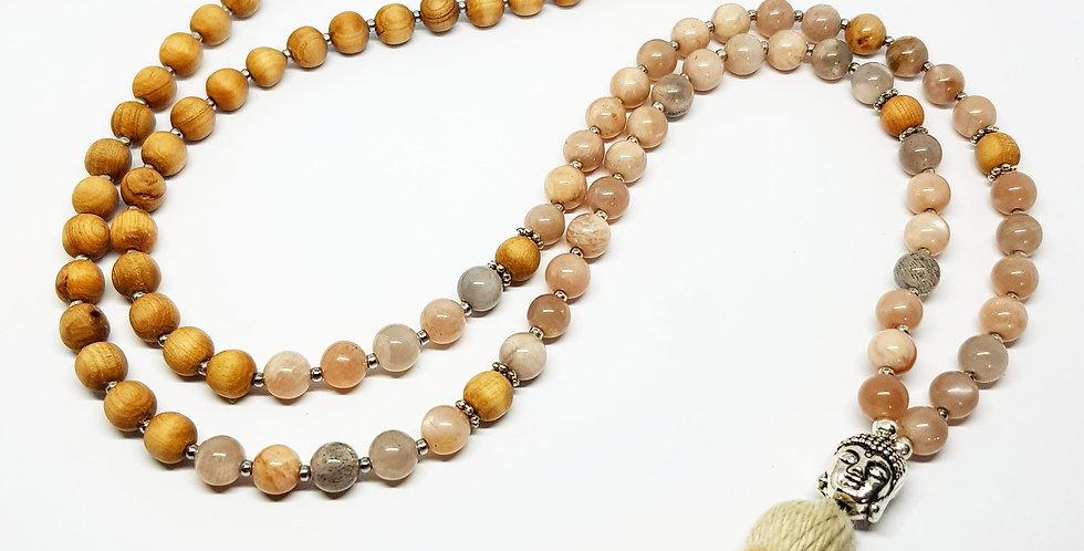 Sunstone ~ Buddha Mala