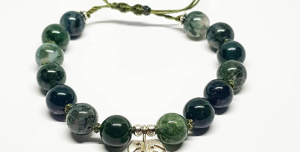 Moss Agate ~ Bracelet