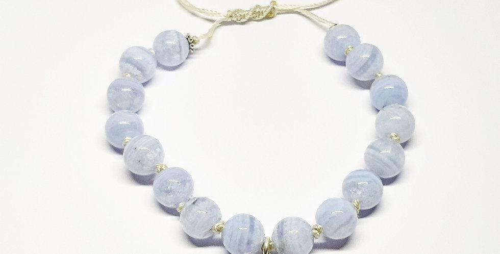 Blue Lace Agate ~ Bracelet