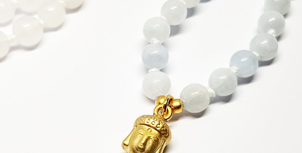 Golden Buddha ~ Celestite