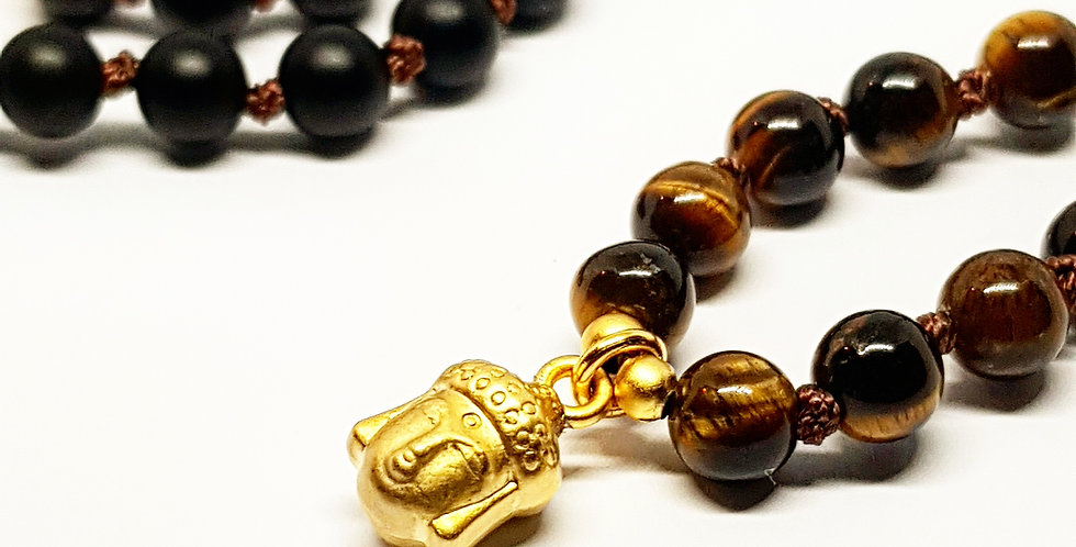 Golden Buddha ~ Tiger's Eye