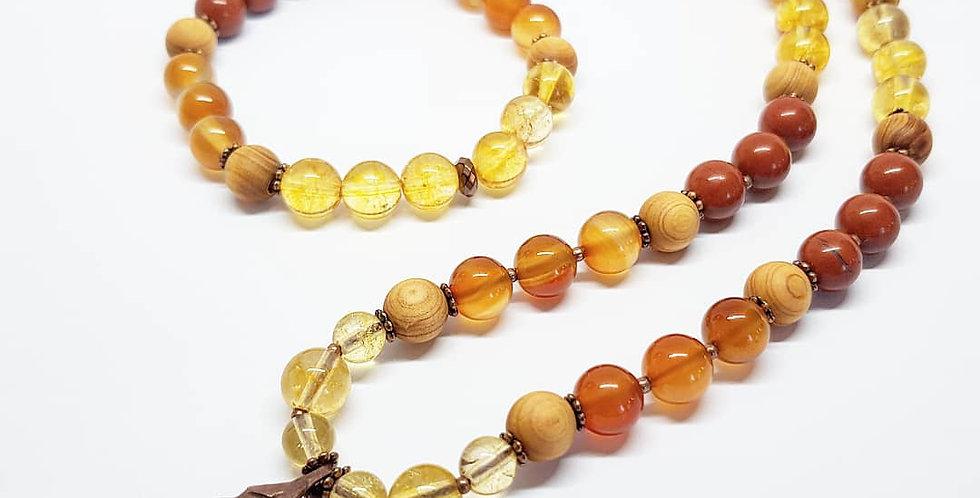 Autumn Magic - Carnelian incl. bracelet