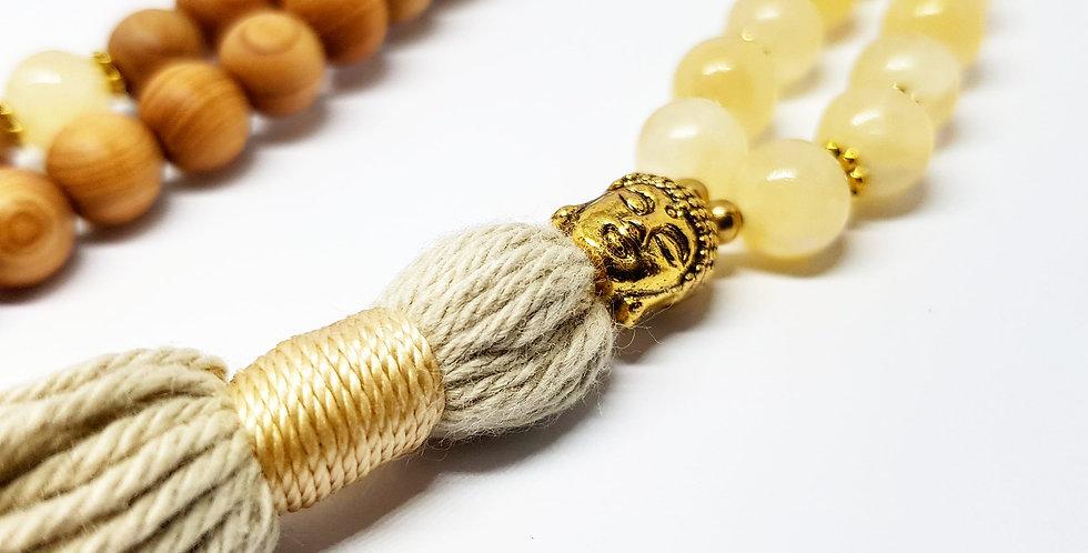 Yellow Calcite - Buddha