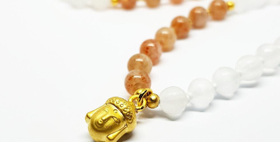 Golden Buddha ~ Sunstone