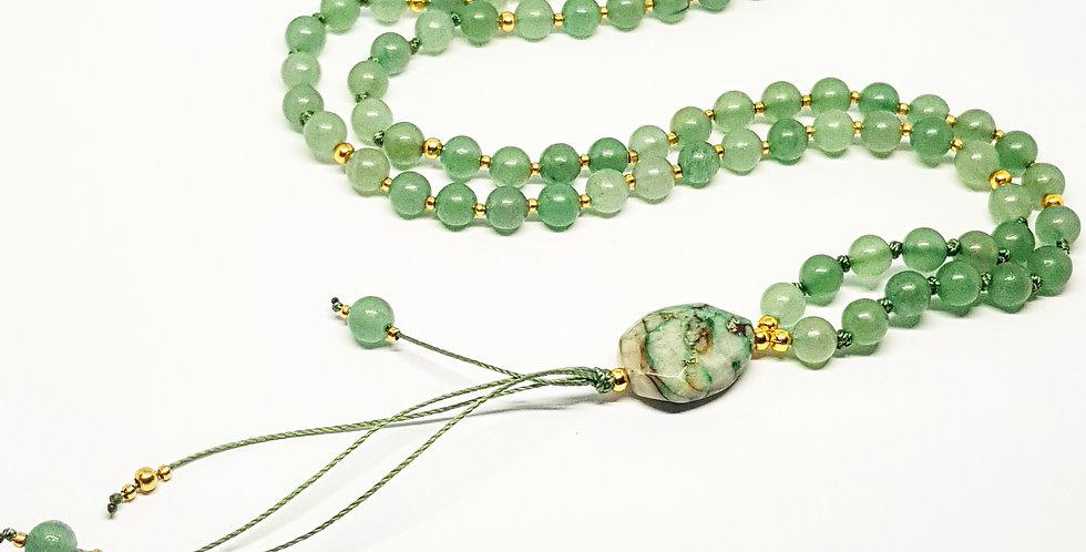 Simplicity ~ Green Aventurine & Chrysocolla
