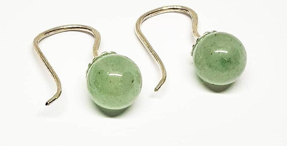 Green Aventurine - Sterling Silver