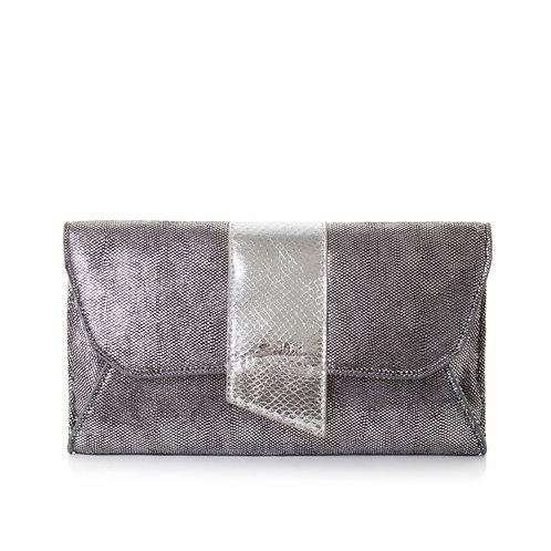 Clutch B30105A argento