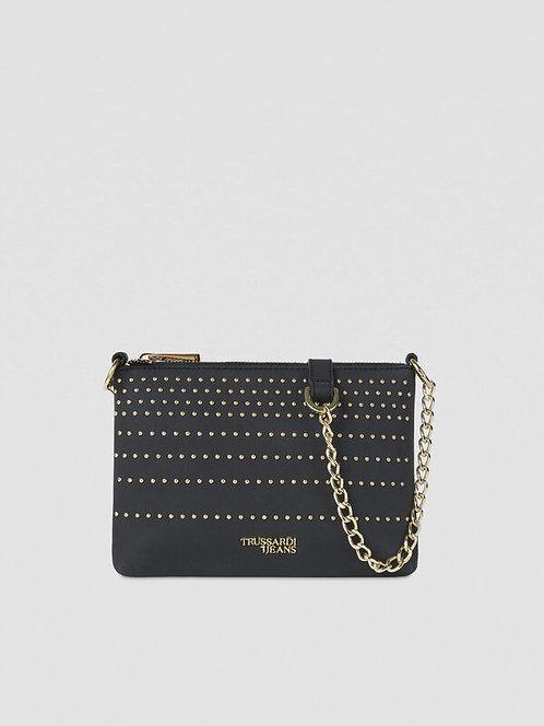 Clutch Anita con borchie nero