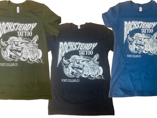 Rocksteady Tattoo Shirts