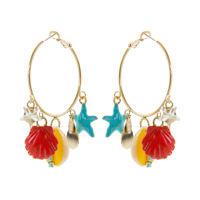 Orecchini 550203G turchese corallo