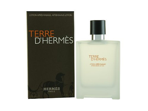 Terre d'Hermès after shave lotion 100ml.