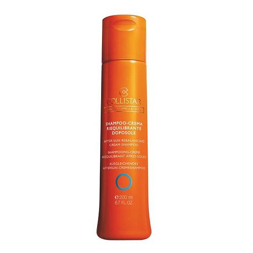 Shampoo-crema riequilibrante doposole 200ml.