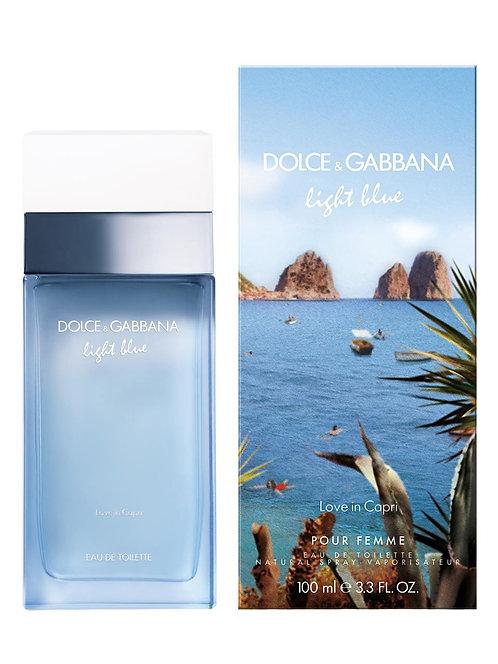 Light blue love in Capri edt vapo 100ml.