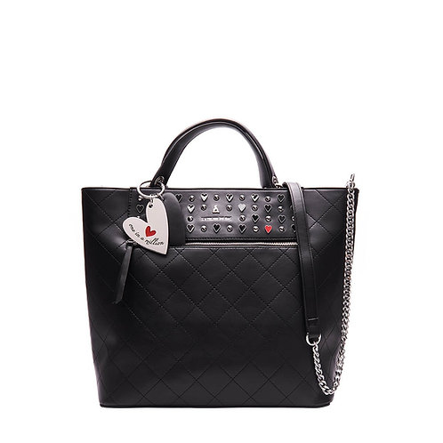 Borsa 9837 mod Scarlett coll One in a million nero