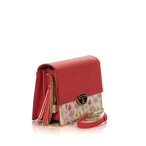 Borsa 8503 mod rochelle painted love corallo
