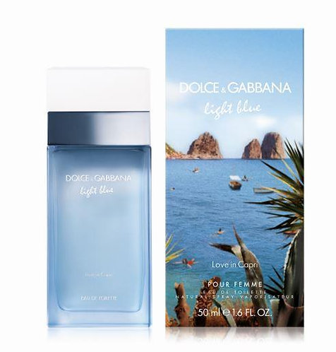 Light blue love in Capri edt vapo 50ml.