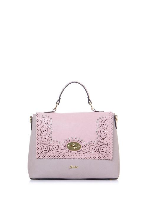 Borsa 19004X perla rosa