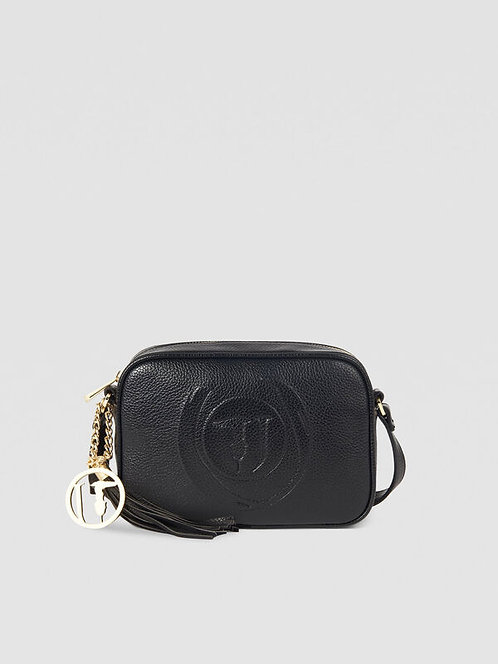 Tracolla Trussardi Camera case faith nero