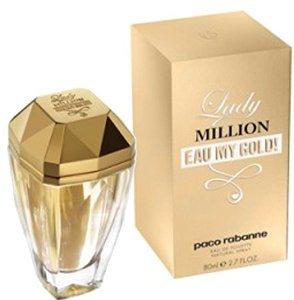 Lady million Eau My Gold edt vapo 80ml.