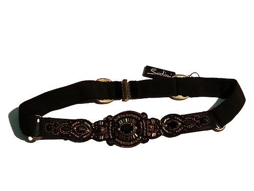 Cintura 650028D oro/nero