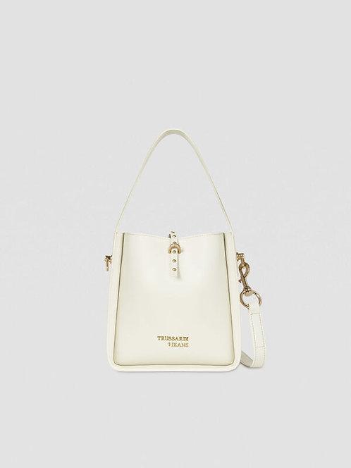 Hobo bag Dafne small white