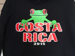 Costa Rica Hooded Sweatshirts
