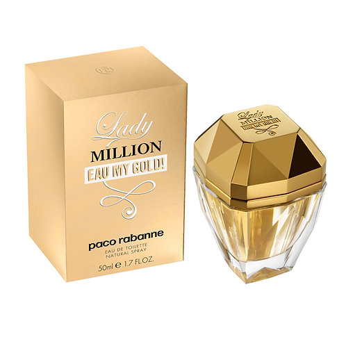 Lady Million Eau My Gold edt vapo 50ml.