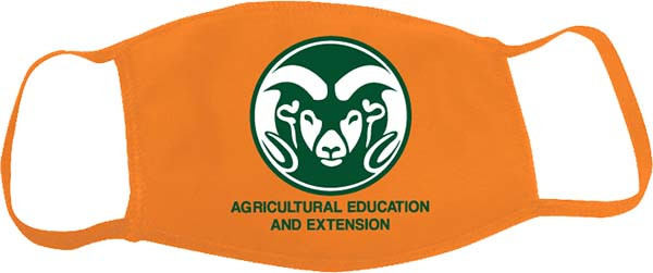Custom Mask for CSU Agricultural Education