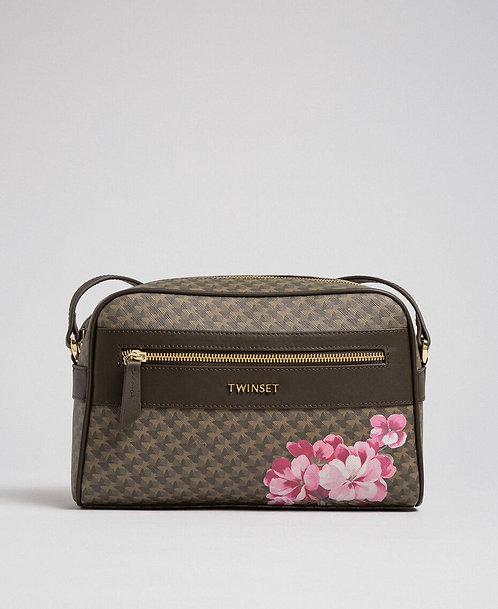 Borsa TA7013 4146  butterfly flower military gold