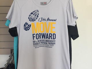 Move Forward 5K/10K Performance Shirts