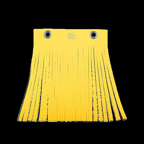Frangia tatù bag  col. giallo
