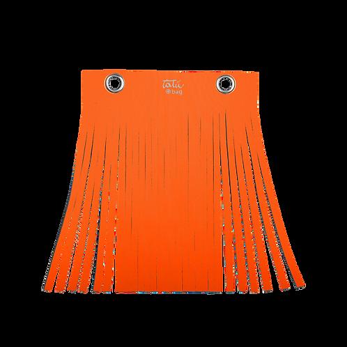 Frangia tatù bag  col. arancio