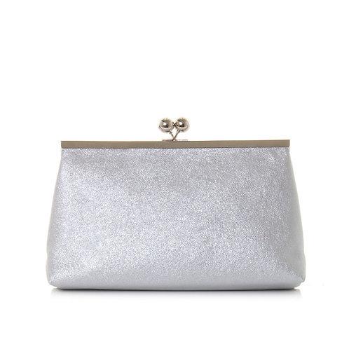 Clutch B30104A argento