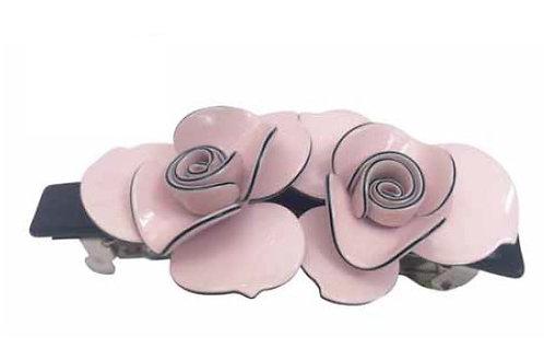 Fermaglio barretta rosa 379
