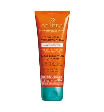 crema solare corpo pelli ipersensibil spf 50 100ml