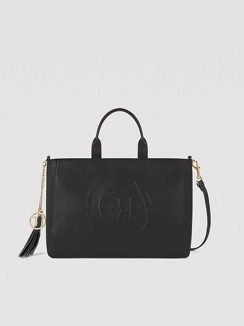 Shopping bag Faith large nero