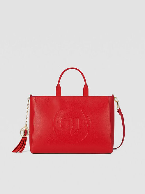 Shopping bag Faith large rosso