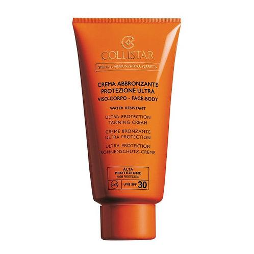 Crema abbronzante viso corpo spf 30 150ml.