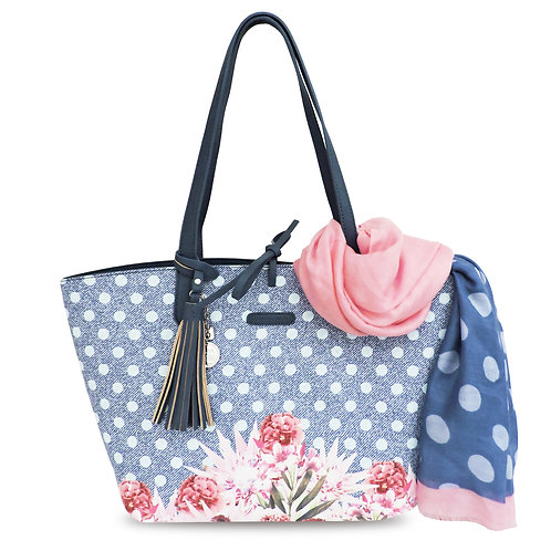Borsa 4896 mod Paris - Linea ocean denim