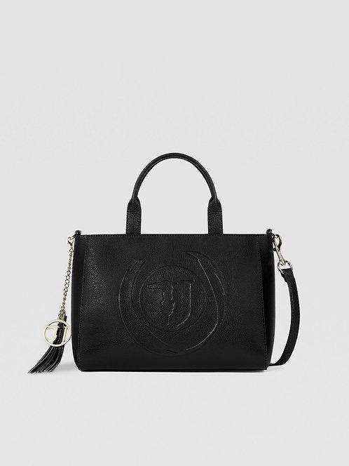 Shopping bag Faith medium nero