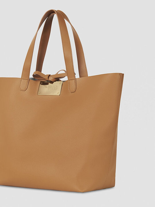 Shopping bag Luna large reversible cuoio