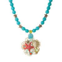 Collana 550213G turchese corallo