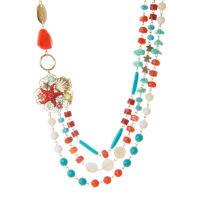 Collana 550214G turchese corallo