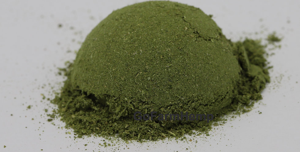 Whole Plant Hemp Powder