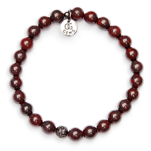 ZAYNE • RED JASPER • 8MM