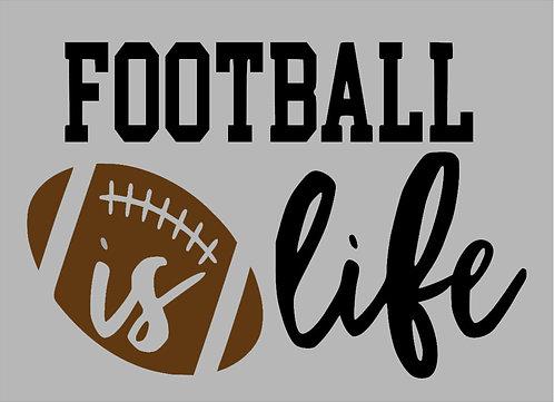 Football is Life Board Art